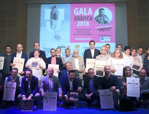 22/2018 El Gremi lliura els premis del Concurs d'Arts Gràfiques, considerats els òscars del sector