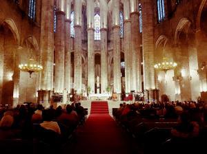 Basílica Sta Maria del Mar - 4 de maig 2018