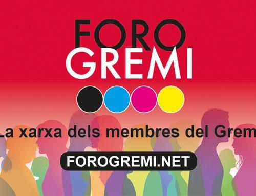 25/2021 Forogremi.net – La nova xarxa dels membres del Gremi